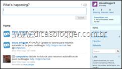 Tweets do Dicas Blogger
