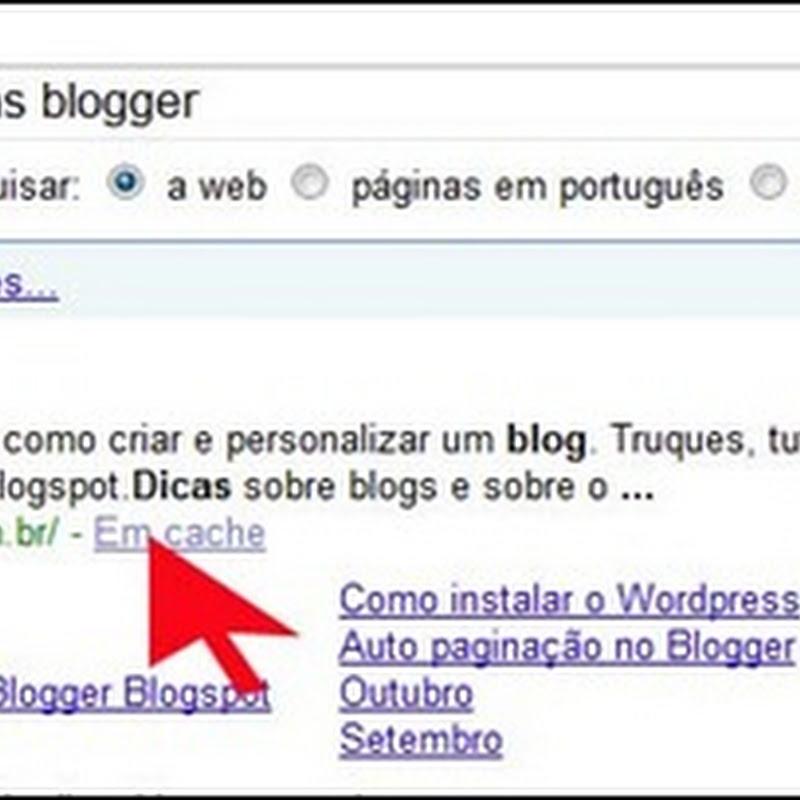 Descrição do blog para os mecanismos de busca