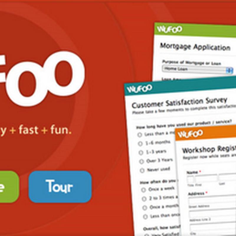 Wufoo - um formulário de contato para o Blogger