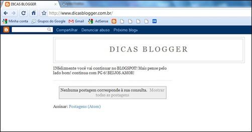 dicas blogger falso