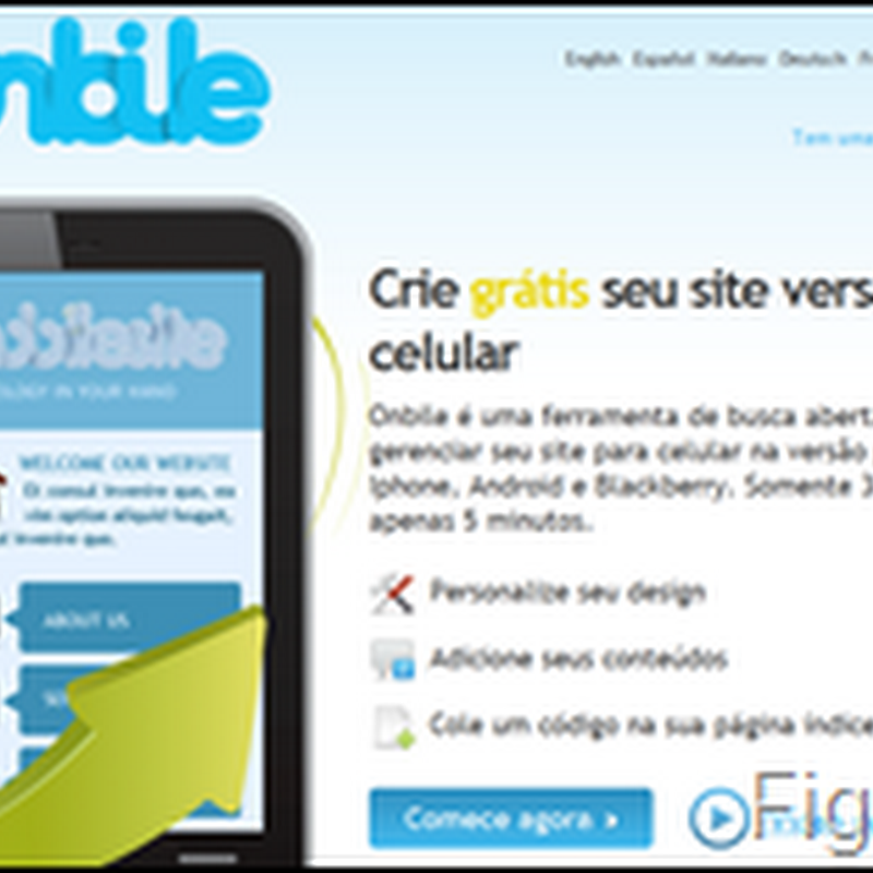Versão mobile de blogs do Blogger/Blogspot
