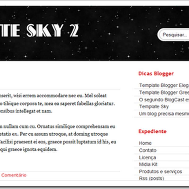 Template Sky 2