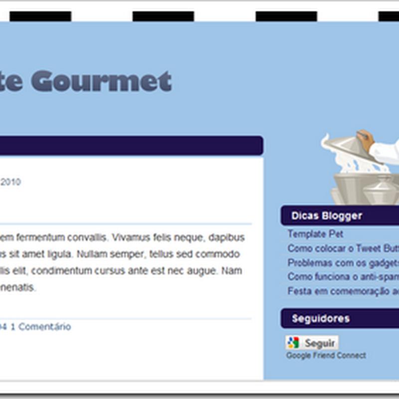 Template Gourmet