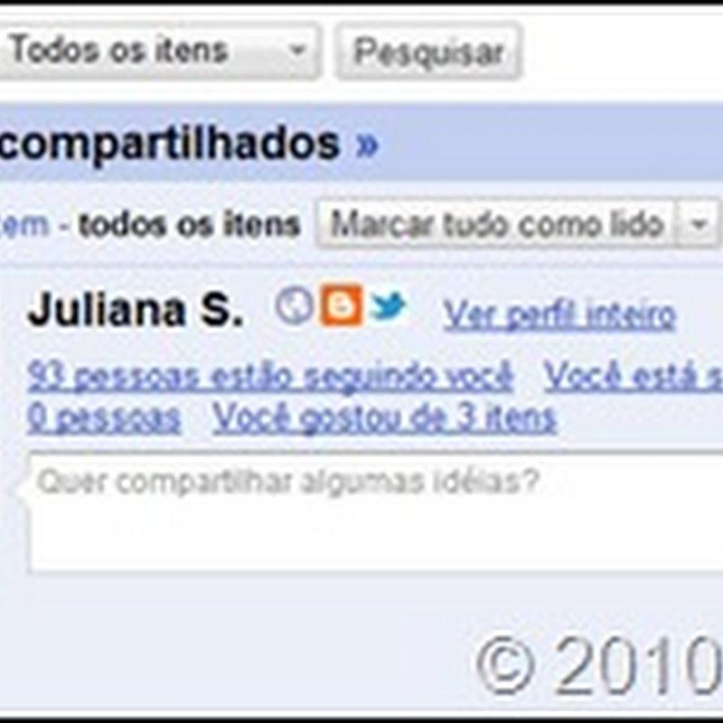 Envie artigos do Google Reader para o Twitter