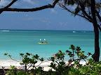 Kailua Beach kayakers