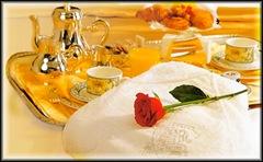 Bravi bravi... godetevi pure la colazione a letto mentre a me tocca andare a lavorare... che possa andarvi la punta del croissant di traverso! :-P