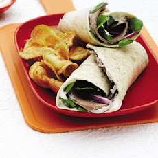 Roast Beef And Horseradish Wraps