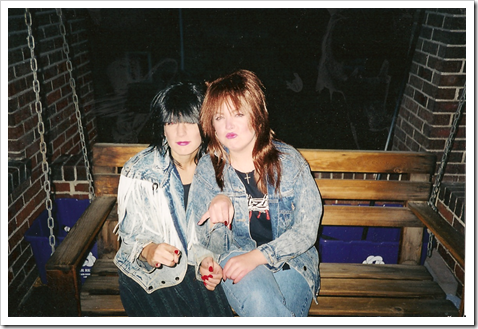 Emily and Claire - Halloween 1999