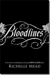 Richelle Mead Bloodlines book cover
