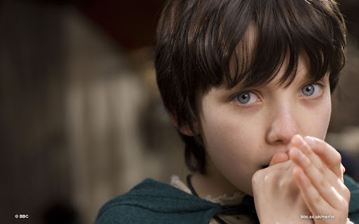 Asa Butterfield is Mordred