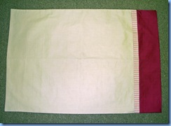 0509 Homespun Pillowcase