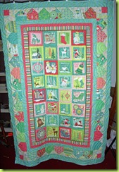 0709 Panel Quilt Finished