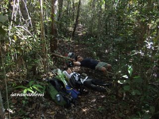 too_tired_Bako_Teluk_Limau_Trek1
