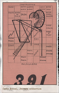 391. Zurich: n.8, febrero 1919. Editada por Francis Picabia. Pulse para ver la imagen completa