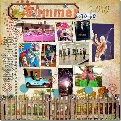 Summer2010-ToDo