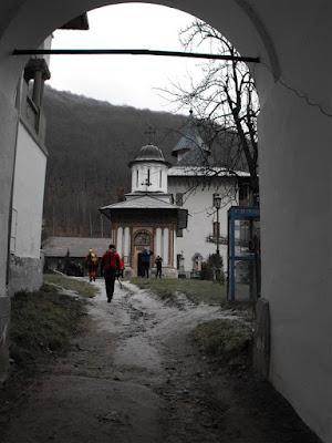 Manastirea Turnu. Muntii Cozia