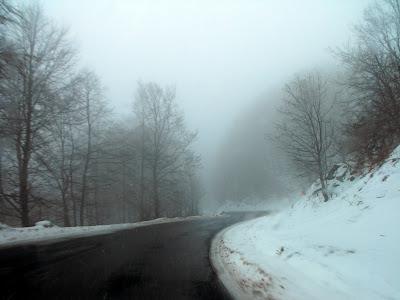 drumuri prin ceata