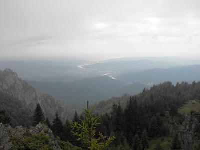 Cozia. Vedere spre Valea Oltului