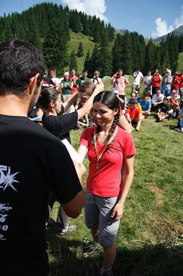Marathon 7500 Bucegi.  Premierea. Locul III, feminin