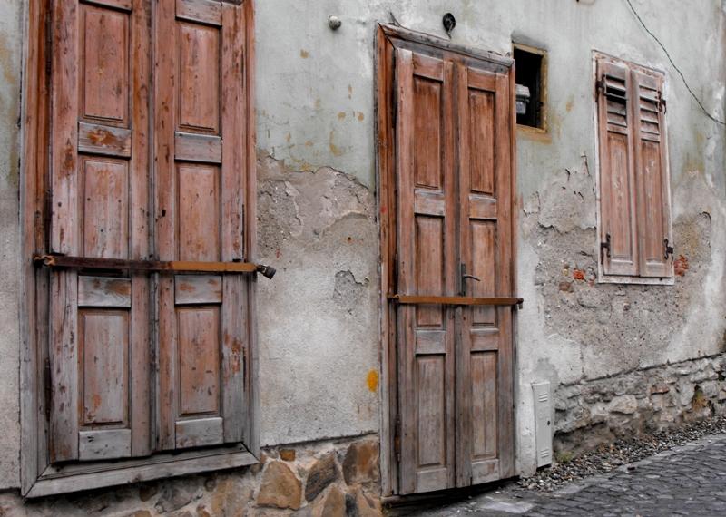 Sighisoara. Cetatea Veche. Casa parasita