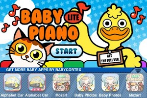 Screenshot of Baby Piano Lite