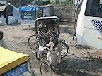 Becak di Varanasi