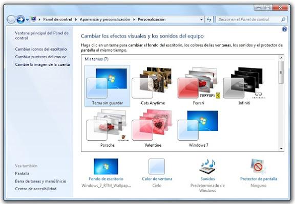 C mo crear un tema de escritorio para windows 7 uptodown blog - Como cambiar fondo de escritorio windows 7 starter ...