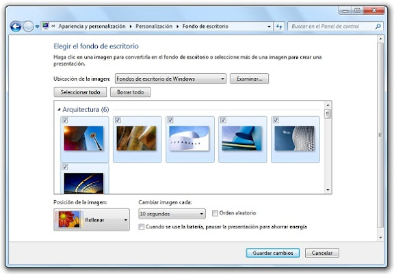 greenshot 2010 02 25 09 23 10 Cómo crear un tema de escritorio para Windows 7