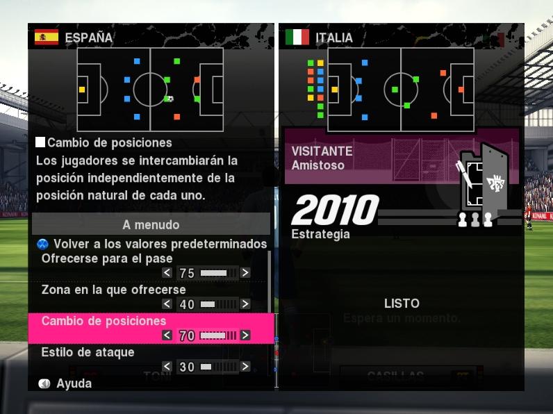 greenshot 2009 09 17 12 23 06 Demo de Pro Evolution Soccer 2010: análisis y descarga
