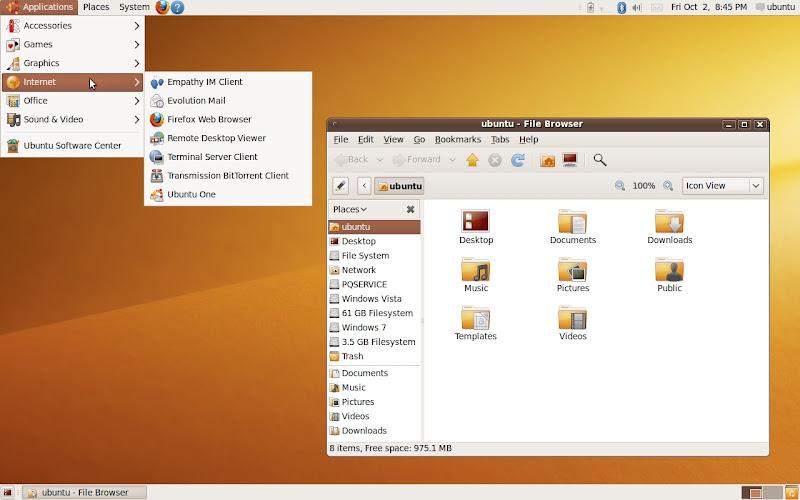 1 Ubuntu 9.10 Beta disponible para descargar