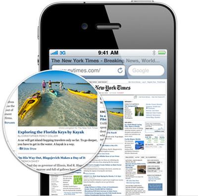 overview retina 20100607 Apple presentó el iPhone 4 en su nueva keynote