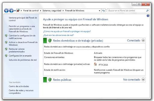 greenshot 2010 07 08 16 39 40 Aprende a gestionar el firewall de Windows 7