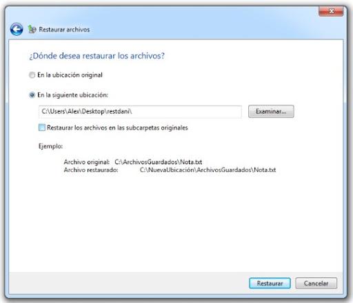 8 Cómo hacer una copia de seguridad con Windows 7