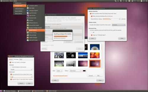 ambiance maverick preview update Ubuntu 10.10 tendrá novedades en el aspecto gráfico
