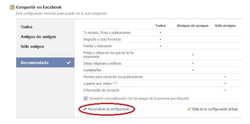 greenshot 2010 12 09 10 07 41 Facebook limita las personas que pueden comentar nuestros mensajes por defecto