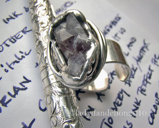 Silver Ring Mother Of Pearl Pandora