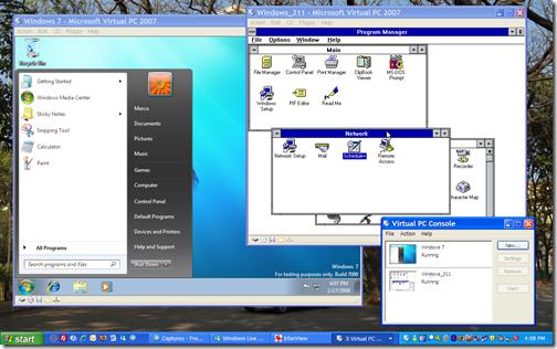 VirtualPC_Win7_Win311