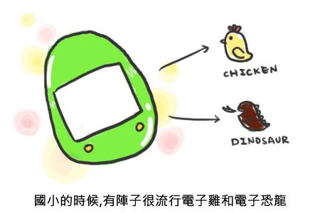 電子雞 tamagotchi