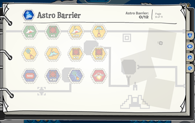 Stamp Book Astro Barrier :)