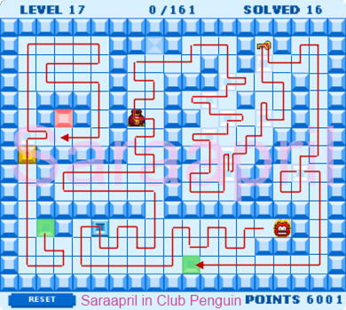 Thin Ice Level 17 :)