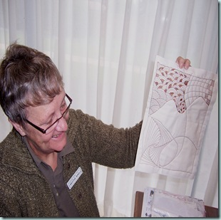 Zentangle quilter Chris