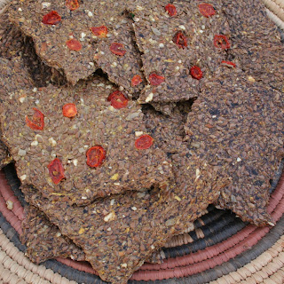 Savory Squash Crackers