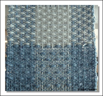Sample Weaving Continued