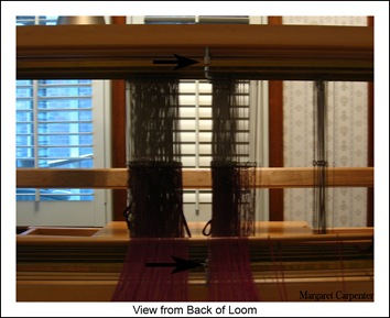 View from Back of Loom
