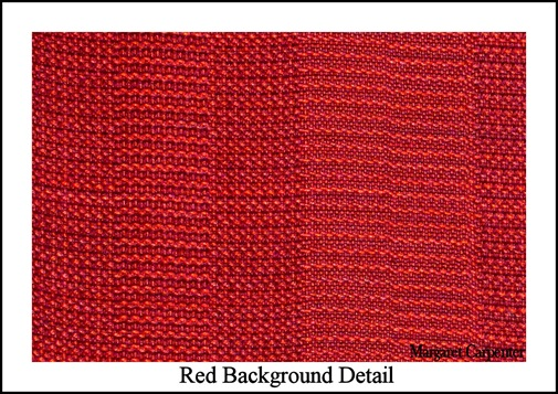 Red Background Detail