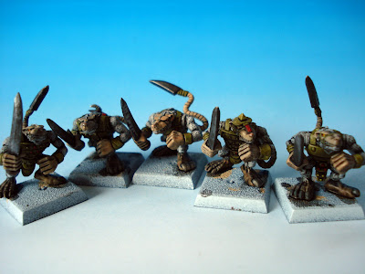 Skaven Albinos Clanrats by red_gobbo