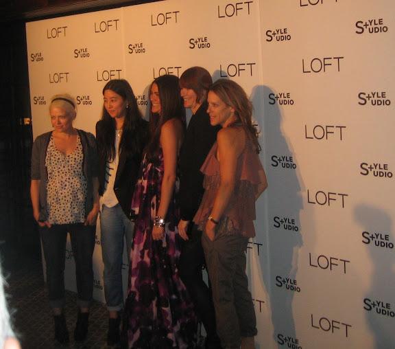 Kate Young, Tina Chai, Alia Ahmed-Yahia, Joanne Blades and Austyn Zang