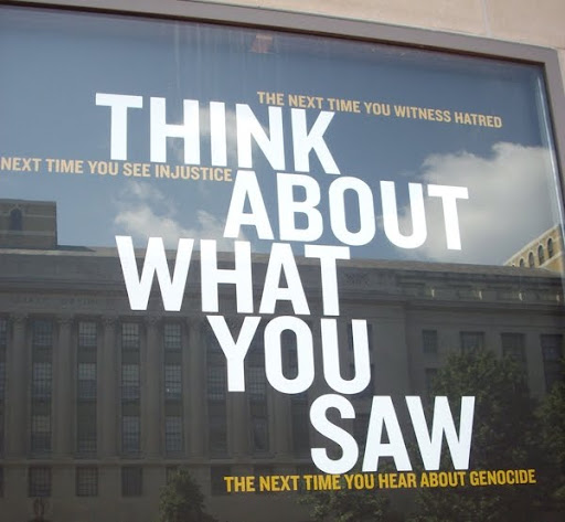 think about what you saw