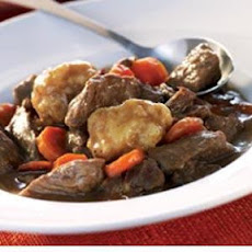 Sweet Loin Deer Stew w/ Drop Dumplings
