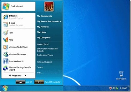 Mengubah Tampilan Windows Xp Ke Windows Seven